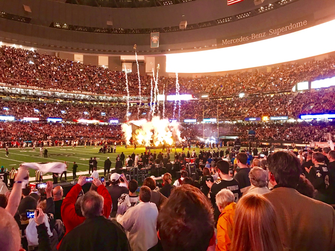 "Kickoff is the start of an out of world experience! The noise level in the  Dome with ""spirited"" wild Saints Fans has been known to trigger the Richter  Scale ... ed4c1cd01"