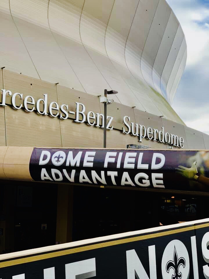 One Eagles fan was amazed with the Welcome Reception they received in New  Orleans from the Saints fans!! Under his breath 48be6d0f3
